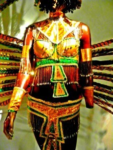 Carnival Costume Closeup